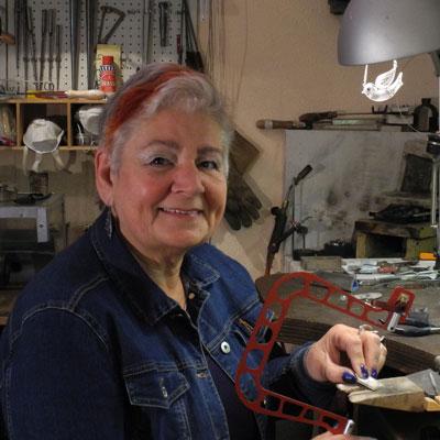 Caty Blom goudsmid en graveur uit Vlaardingen